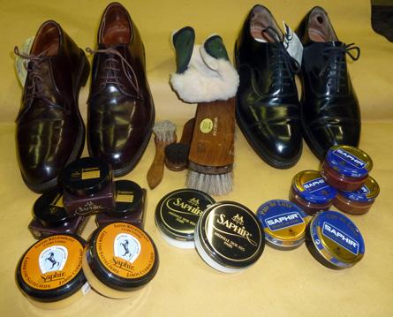 come lucidare scarpe vernice